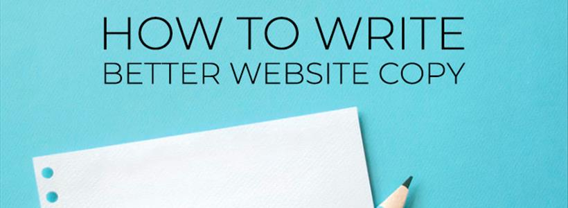 How to Write Better Website Copy