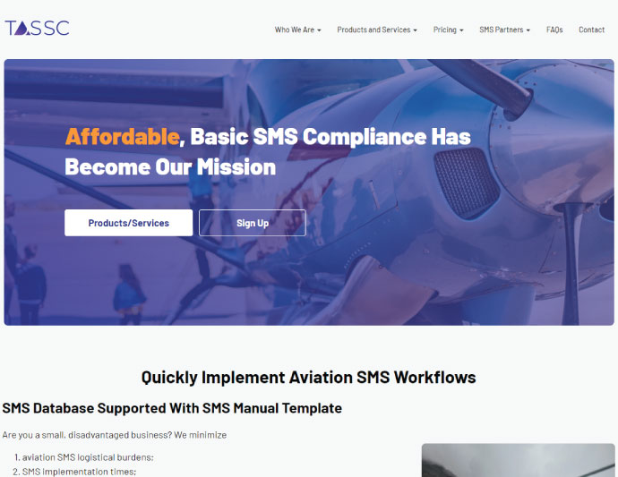 The Aerospace Safety Software Company