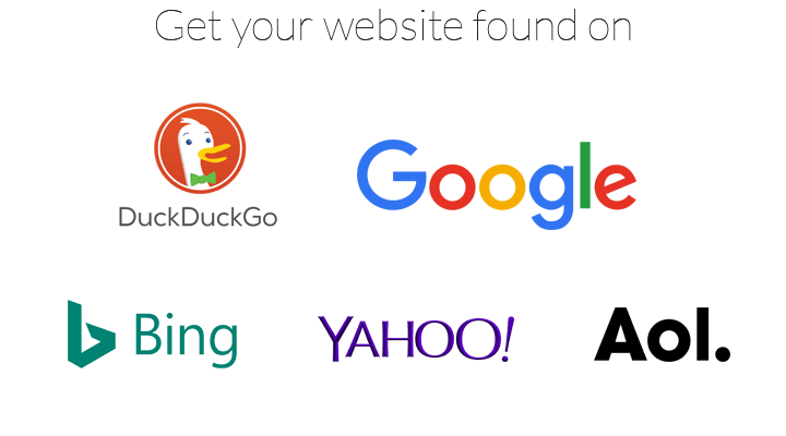 Get your website found on search engines