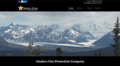 North Star Fire Protection website